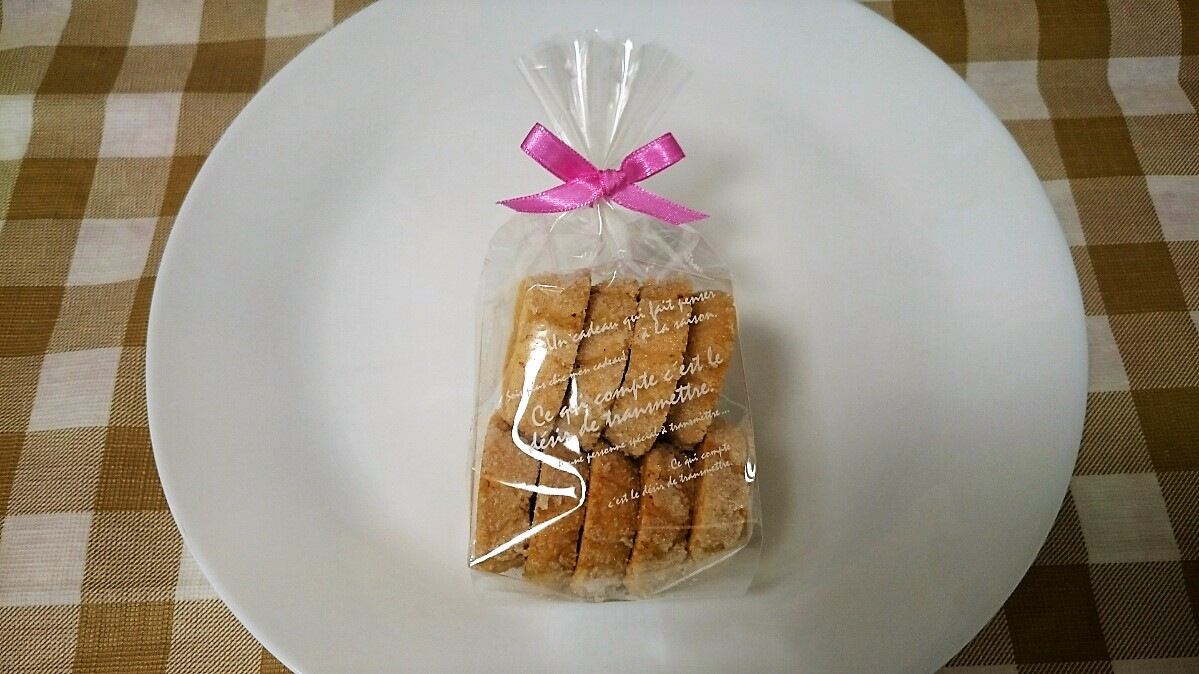 <H1>ディアマン</H1> 400円/素朴で飽きのこないさくさくクッキー